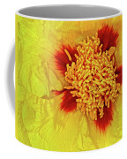 Yellow Peony Coffee Mug