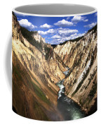 Yellowstone River Below Lower Falls  Coffee Mug