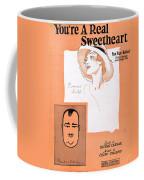 You're A Real Sweetheart Coffee Mug by Mel Thompson