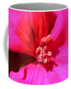 Zonal Geranium Named Tango Neon Purple Coffee Mug