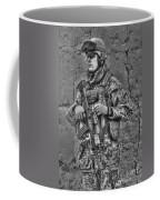 Hdr Image Of A German Army Soldier Coffee Mug