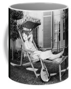 Silent Film Still: Woman Coffee Mug by Granger