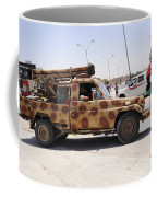 A Free Libyan Army Pickup Truck Coffee Mug by Andrew Chittock