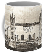 Tower Bridge Art Coffee Mug