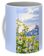Toronto Skyline Coffee Mug by Elena Elisseeva