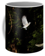 Tufted Titmouse In Flight Coffee Mug