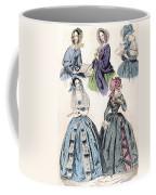 Womens Fashion, 1842 Coffee Mug