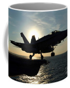 An Fa-18c Hornet Launches Coffee Mug by Stocktrek Images