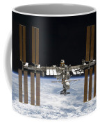 The International Space Station Coffee Mug