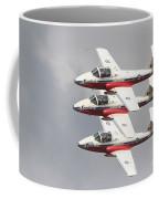 The Snowbirds 431 Air Demonstration Coffee Mug
