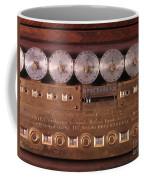 17th Century Calculating Machine Coffee Mug