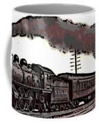 1800's Steam Train Coffee Mug
