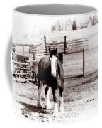 1900  Clydesdale Horse Coffee Mug