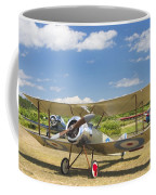 1916 Sopwith Pup Airplane On Airfield Poster Print Coffee Mug