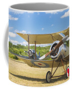 1916 Sopwith Pup Biplane On Airfield Canvas Photo Poster Print Coffee Mug