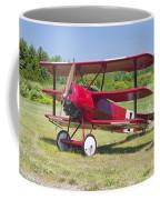 1917 Fokker Dr.1 Triplane Red Barron Canvas Photo Print Poster Coffee Mug