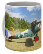 1917 Nieuport 28c.1 Antique Fighter Biplane Canvas Photo Poster Print Coffee Mug