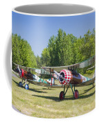 1917 Nieuport 28c.1 World War One Antique Fighter Biplane Canvas Poster Print Coffee Mug