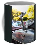 1928 Hudson Super Six Roadster Hood Ornament Coffee Mug