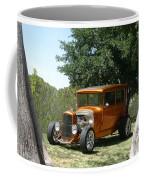 1929 Ford Butter Scorch Orange Coffee Mug by Jack Pumphrey