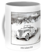 1936 Auburn 810 Coffee Mug by Jack Pumphrey