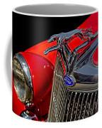 1936 Ford Model 48 Emblem Coffee Mug