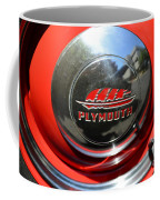 1937 Plymouth Hubcap Coffee Mug