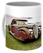 1938 Delahaye Cabriolet Coffee Mug