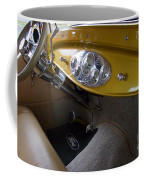 1938 Ford Roadster Dashboard Coffee Mug