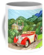 1948 Alvis English Countryside Coffee Mug