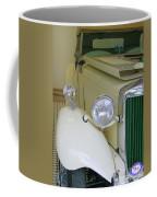 1952 Mg Roadster  Side View Coffee Mug