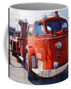 1954 American Lafrance Classic Fire Engine Truck Coffee Mug