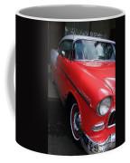 1956 Red And White Chevy Coffee Mug