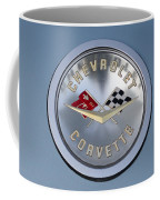 1959 Corvette Emblem Coffee Mug