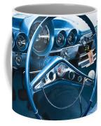 1960 Chevrolet Impala Steering Wheel Coffee Mug