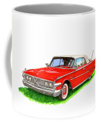 1960 Edsel Ranger Convertible Coffee Mug