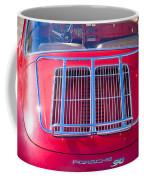 1963 Red Porsche 356b Super 90 Back End Coffee Mug