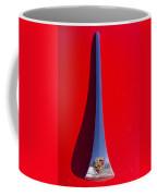 1963 Red Porsche Hood Emblem Coffee Mug