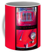 1963 Red Porsche S90 Coupe Poster S Coffee Mug