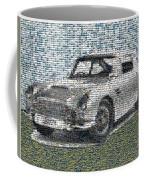 1964 Aston Martin Mosaic Coffee Mug