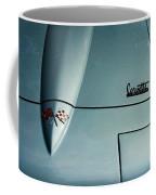 1966 Corvette Sting Ray Hood Insignia Coffee Mug
