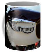 1967 Triumph Bonneville Gas Tank 1 Coffee Mug