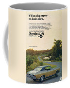 1968 Chevrolet Chevelle Ss 396 - It'd Be A Big Mover On Looks Alone. Coffee Mug