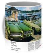 1969 Pontiac Gto And Firebird Coffee Mug