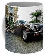 1973 Jaguar Type E Fantasy  Coffee Mug