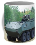 A Belgian Army Piranha IIic With The Fn Coffee Mug