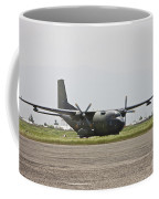 A German Air Force Transall C-160 Taxis Coffee Mug