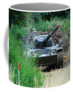 A Leopard 1a5 Mbt Of The Belgian Army Coffee Mug by Luc De Jaeger