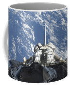 A Partial View Of Space Shuttle Coffee Mug