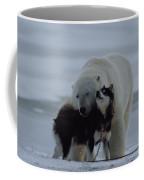 A Polar Bear Ursus Maritimus Coffee Mug